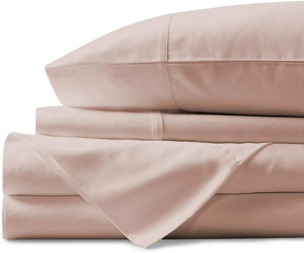 Cotton Sheet Blush Full Sheets Set