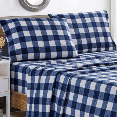 Softan Polar Fleece Bed Sheet Set