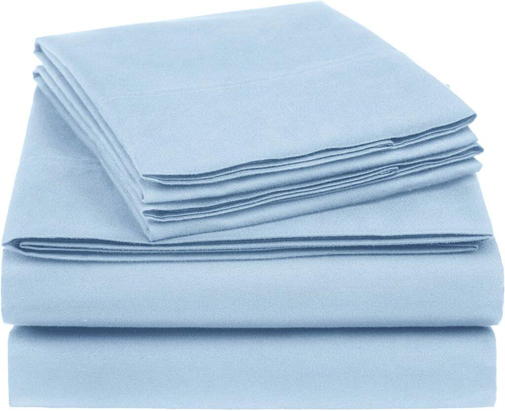 Heather Cotton Jersey Bed Sheet Set