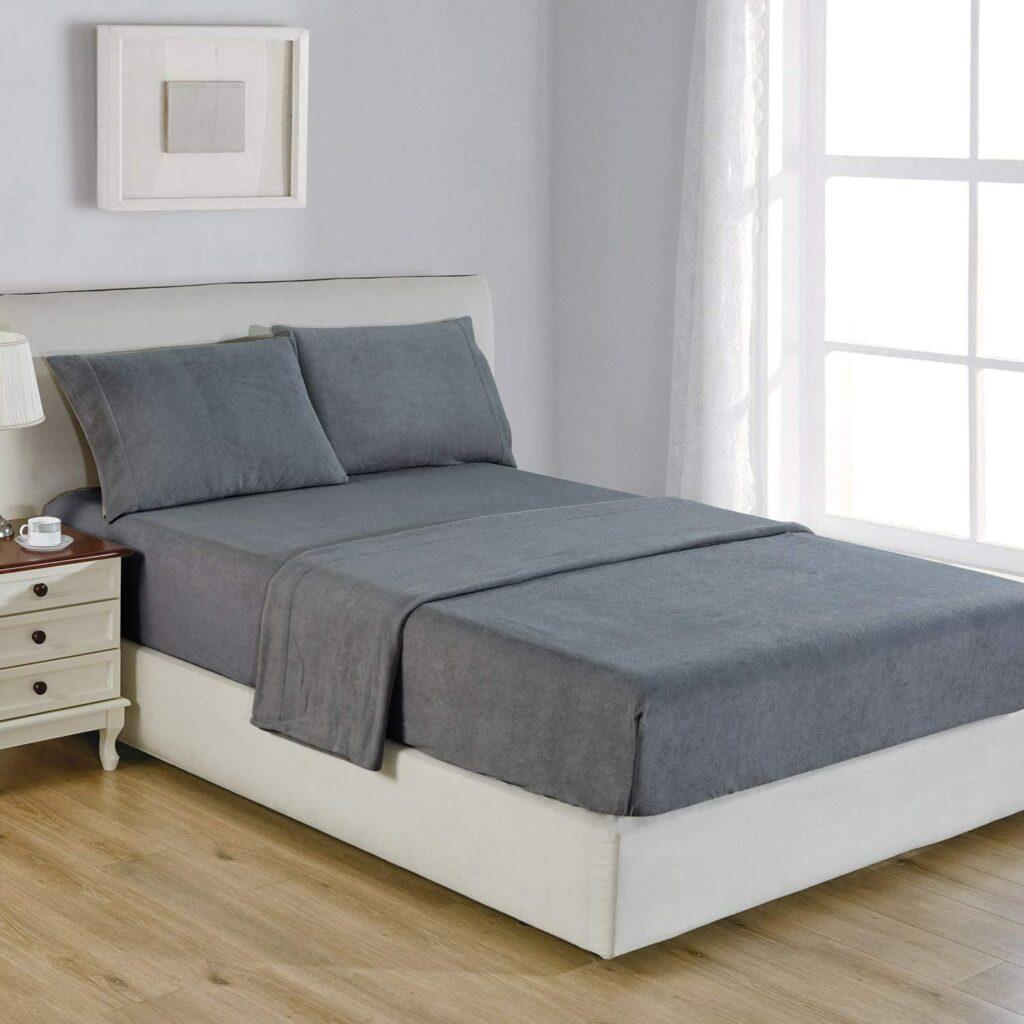 Polar Fleece Queen-Size Bed Sheet